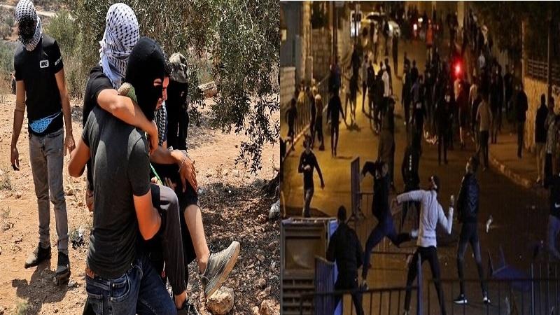 فلسطینیوں اور صیہونیوں میں شدید جھڑپیں، 100 فلسطینی زخمی