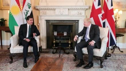 Hevdîtina serokwezîrê Brîtanyayê û serokê Herêma Kurdistana Iraqê li Londonê