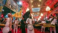 Suasana Haram Suci Imam Husein as Menjelang Arbain