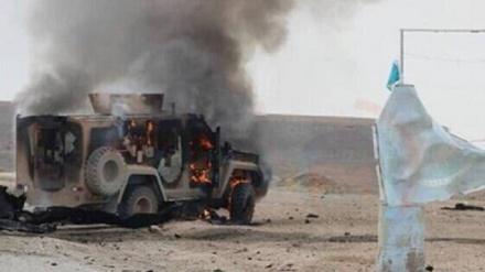 عراق میں امریکی فوجی قافلے پر حملہ