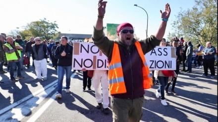 Demonstrata në Itali kundër certifikatës së detyrueshme të vaksinimit