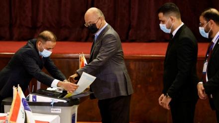 hilbijartina nûnerên xula pêncem a parlamenta Iraqê