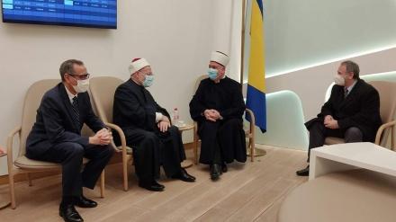 Egipatski muftija stigao u zvaničnu posjetu Islamskoj zajednici u BiH